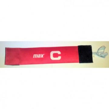 Banderola capitan Max rosu